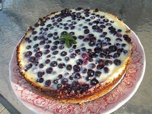 Chow And Chatter Bluberries Kuchen Chile