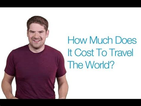 cost  travel  world youtube
