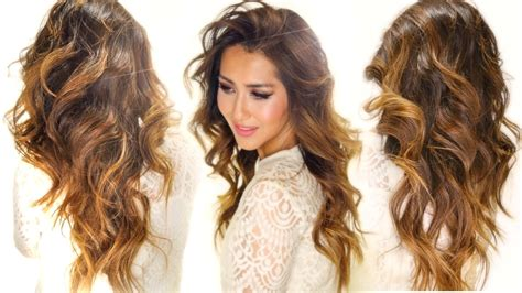 caramel hair color drugstore ombre