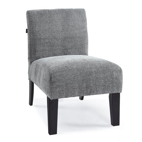 shop dhi deco charcoal accent chair at lowes
