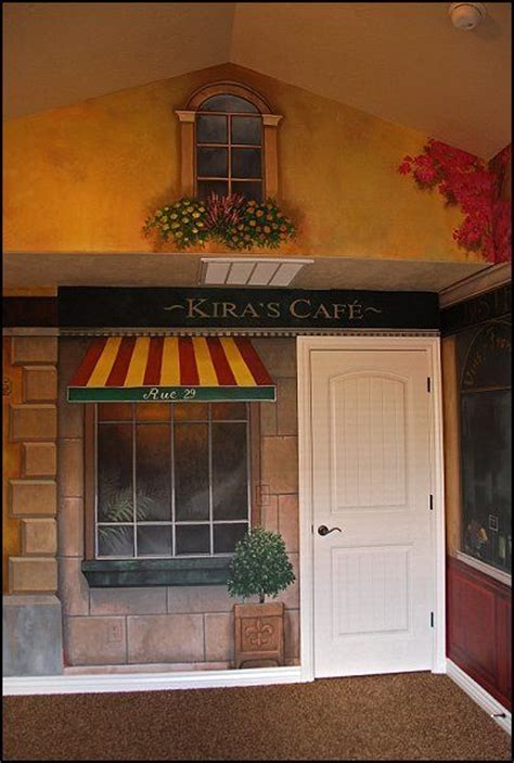 kitchen theme ideas for decorating kitchen ideas with cafe murals ideas cafe