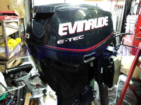 Used Etec Outboard Motors For Sale by Used Evinrude E Tec 60 Hp Outboard Motor For Sale