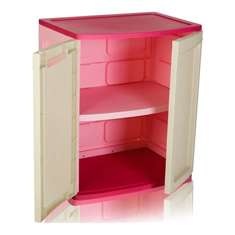 Plastic Storage Cabinets With Doors by Plastic Cabinet With Shelf And Doors