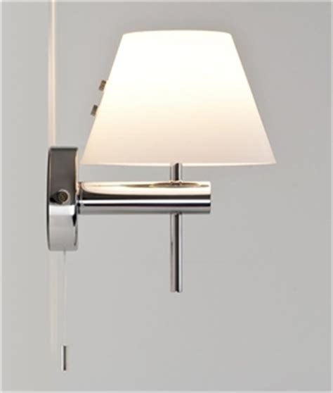 wall lights with built in switches pull cords lighting