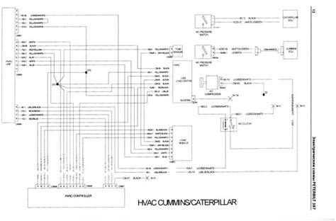 peterbilt wiring schematic    truck handbooks wiring diagrams fault codes