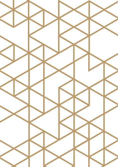 geometric triangle design triangle print gold triangle geometric print geometric art triangles art gold print gold