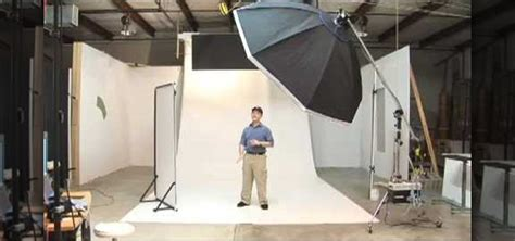 set   big white infinity sweep  photo studio