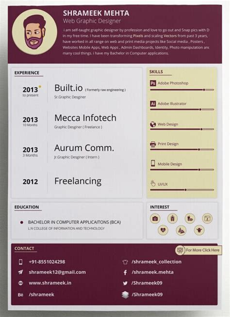 free clean resume cv vector templates 3 colors titanui