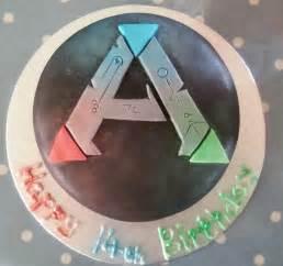 Evolved Survival Ark Birthday Cake
