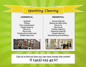 download free house cleaning flyers and ad ideas fully With cleaning services advertising templates