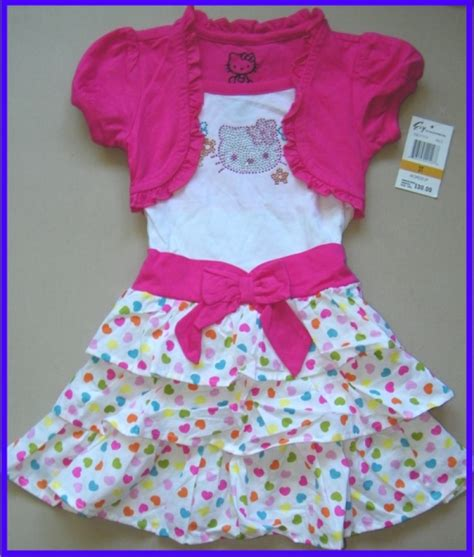 cute  kitty girls dress collection  lovekidszone