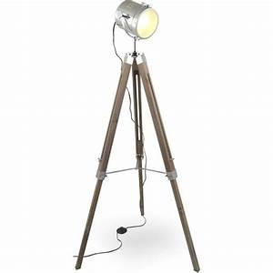 Lampe Trepied Ikea : lampe cinema sur pied lampadaire boule chrome marchesurmesyeux ~ Teatrodelosmanantiales.com Idées de Décoration