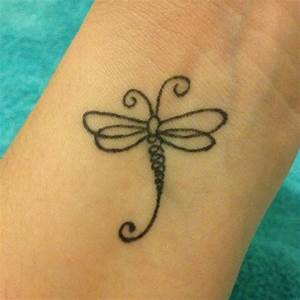 My dragonfly tattoo. Cute and simple   Me   Pinterest ...