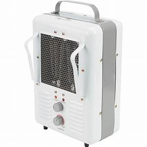 Profusion Heat Industrial Utility Heater With Thermostat