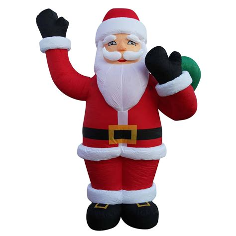 6M Giant Christmas Santa Claus Inflatable Large Outdoor ...