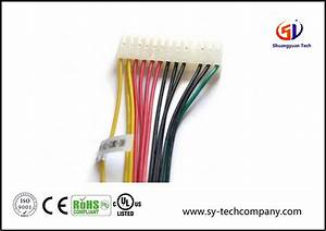 China Customized Electric 20 Pin Wire Harness With Molex