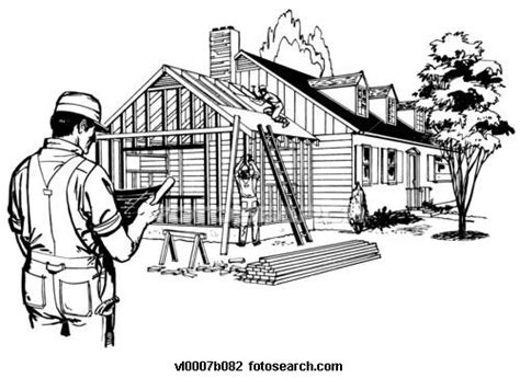 home construction clipart black and white the horner house project august 2013