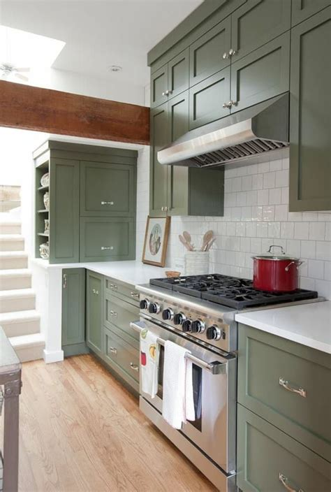 green cabinet kitchen best 25 green kitchen cabinets ideas on green 1350