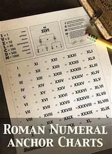 Great Sample Resume Roman Numerals Chart 1 50 Roman Numerals Chart 1 50 4th