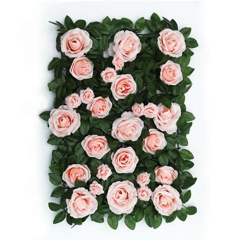 Flower Wall Panels Wedding Backdrop Flower Wall Decor