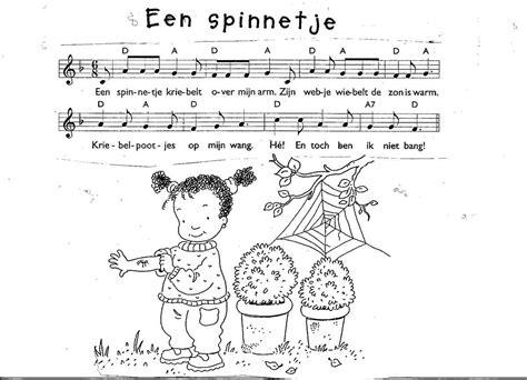 Kleurplaat De Spin Die Het Te Druk Had by Er Was Eens Een Spinnetje Zoeken Thema