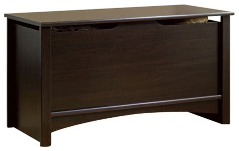 Sauder Shoal Creek Dresser Jamocha Wood Finish by Sauder Shoal Creek Storage Chest In Jamocha Wood Finish