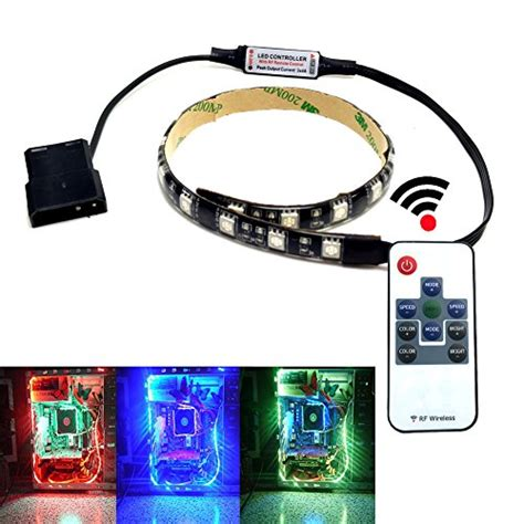 autai rgb led light with remote and magnetic