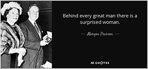 maryon pearson quote   great man
