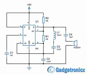 Building A Simple Metal Detector Circuit Using Ic 555 And