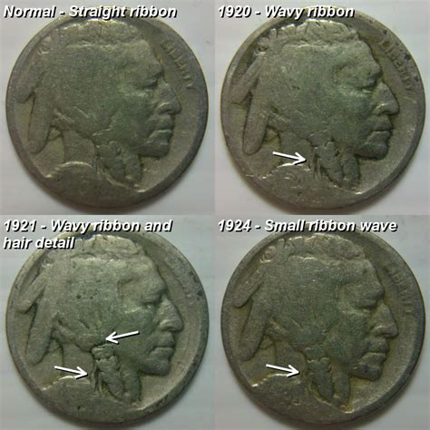 buffalo nickel no date reference image 1920 1921 and 1924 dateless buffalo nickel coin community forum