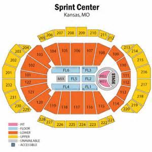 Kansas City Sprint Center Seating Chart