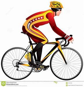 Bicycle Racer, Cycle Race Derby Stock Vector - Image: 51261055