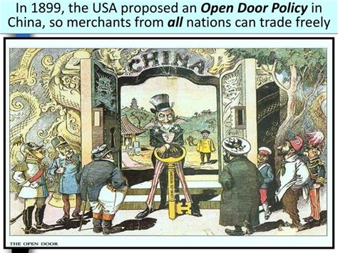 open door policy china ppt imperialism in china powerpoint presentation id