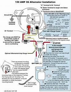1967 F100 Alternator Wiring Diagram