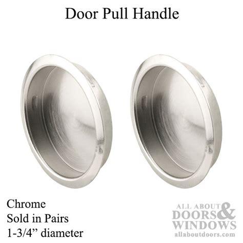 pull     chrome closet door