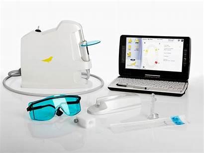 Canary Dental Caries System Amalgam Accurately Around