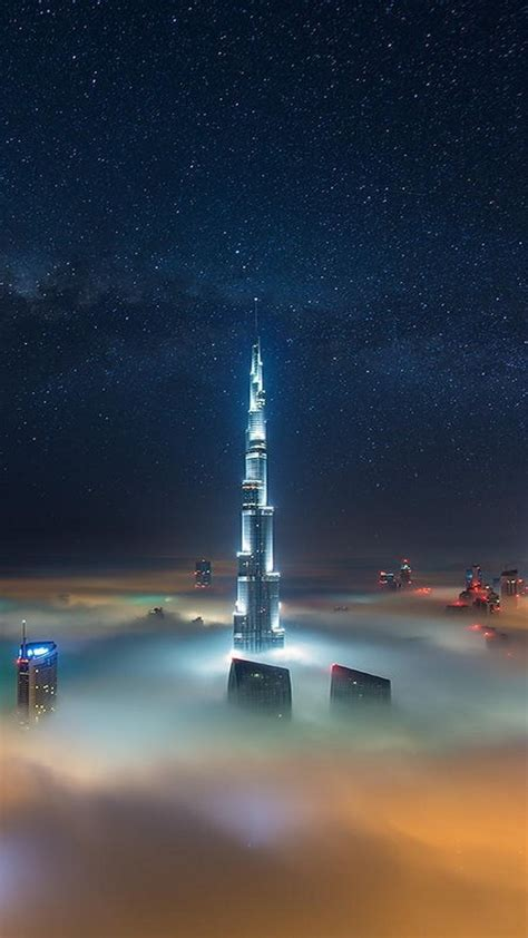 dubai burj khalifa tower iphone wallpaper iphone wallpapers