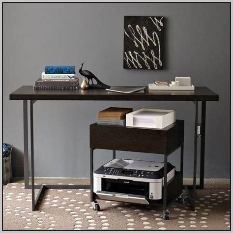 desk with printer cabinet under desk printer stand ikea desk home design ideas
