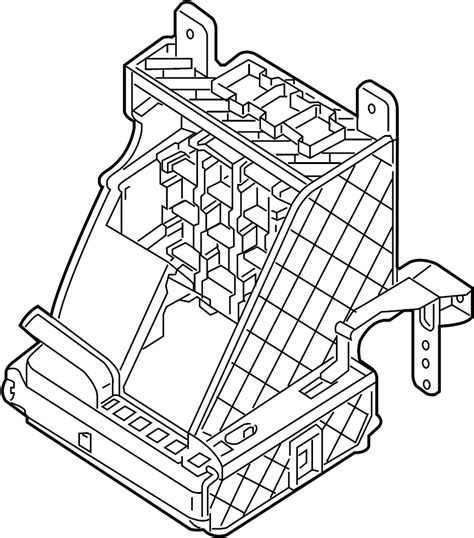 1995 Vw Passat Fuse Box Cover by Volkswagen Passat Fuse Box Bracket Lower Passenger
