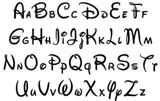 disney letter font disney font alphabet letters lettering 28921