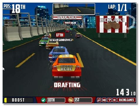 Nascar Games Online Unblocked At School