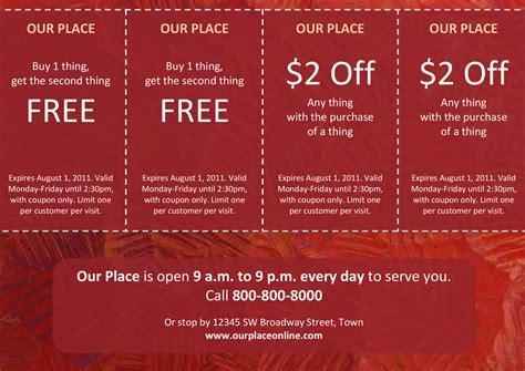 coupon templates xerox  small medium businesses