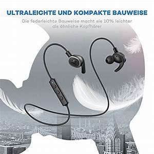 Bluetooth Kopfhörer On Ear Test : bluetooth kopfh rer 4 1 in ear kopfh rer taotronics aptx ~ Kayakingforconservation.com Haus und Dekorationen