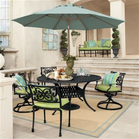 5 amalfi dining set traditional patio furniture