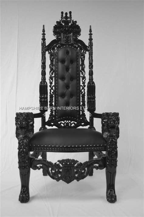 lion throne chair hampshire barn interiors