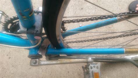 Rear Wheel Rubs Frame After Tire Change