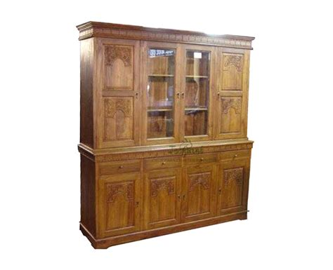 Wood Bookcase Cabinet by Solid Teak Wood Bookcase Cabinet Indonesia Furniture Jepara