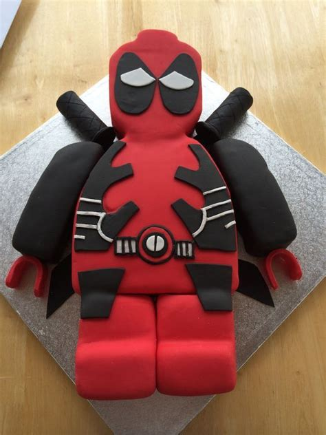 ideas  deadpool cake  pinterest marvel