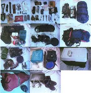 Camping and Survival Gear