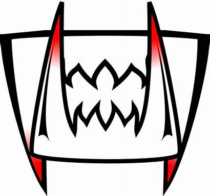 Clip Teeth Clipart Smile Creepy Vampire Cliparts